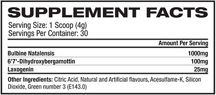 Platinum Labs Anabolic Triad Nutritional information