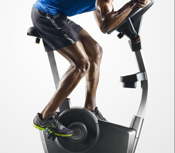 NordicTrack U100 Exercise Bike in use