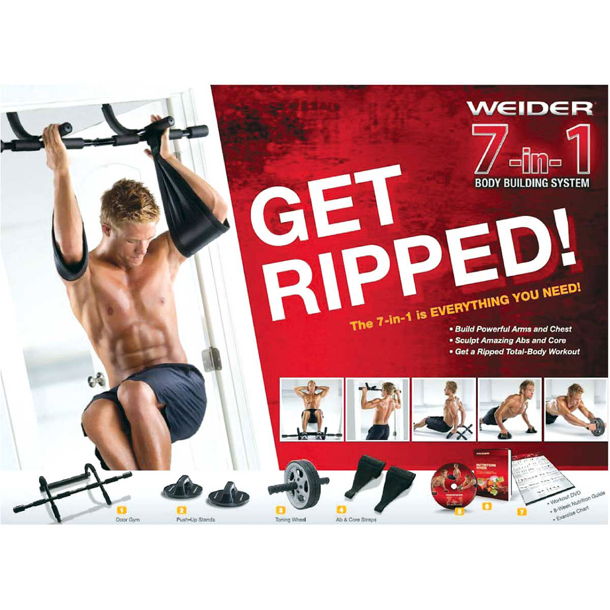 Weider 7-in-1 Home Gym Trainer System