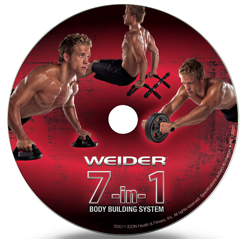 Weider 7-in-1 Home Gym Trainer System - Workout DVD