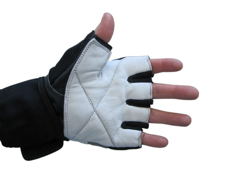 X-Power Leather Weight Lifting Gloves