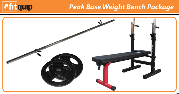 Peak Base Weight Bench Package