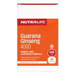 Nutralife Guarana Ginseng 4000mg Capsules