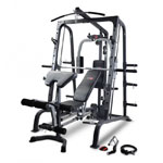 Smith Machine Combo with FID Bench