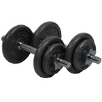 20kg Dumbbell Set in Carry Case