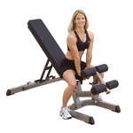 Body Solid Heavy Duty Flat Incline Decline Bench
