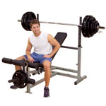 Body Solid Power Olympic Bench