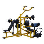 Bodyworx L530MG 3-Station Lever Gym