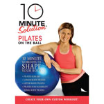 10 Minute Solution - Pilates on the Ball DVD