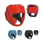 Excalibur Boxing Leather Head Guard