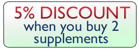 5% Discount when you buy 2 of the same supplements