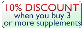 10% Discount when you buy 3 or more supplements*
