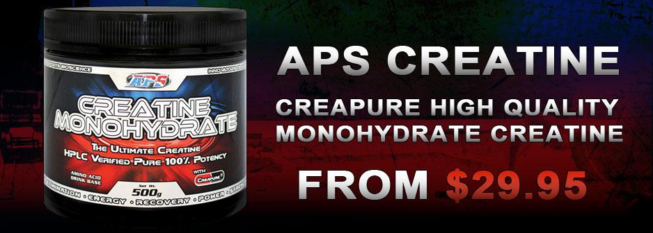 APS Creapure Creatine Monohydrate
