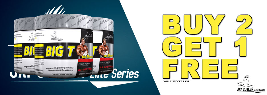 Big T Testosterone Booster Special!