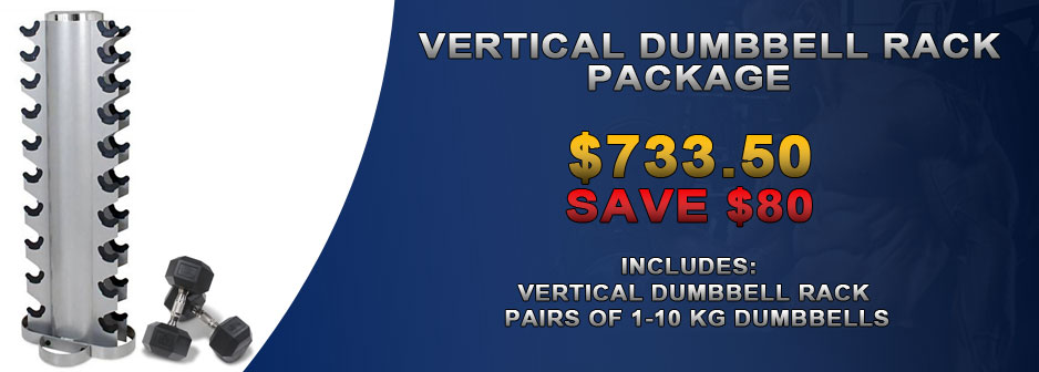 Vertical Dumbbell Rack Package