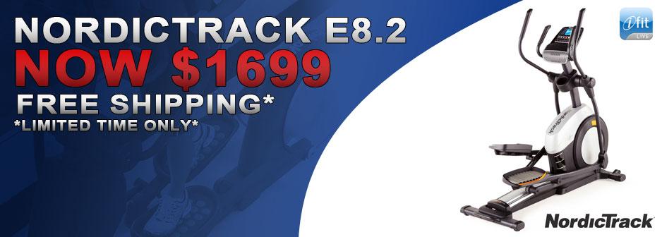NordicTrack E8.2 Elliptical On Sale