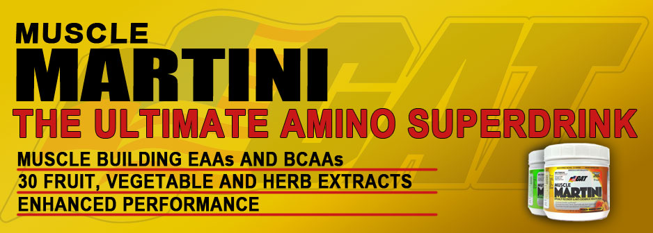 GAT Muscle Martini Amino Superdrink!