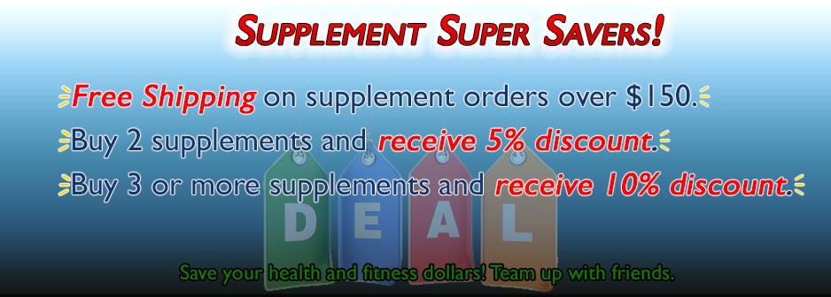 Supplement Super Savers