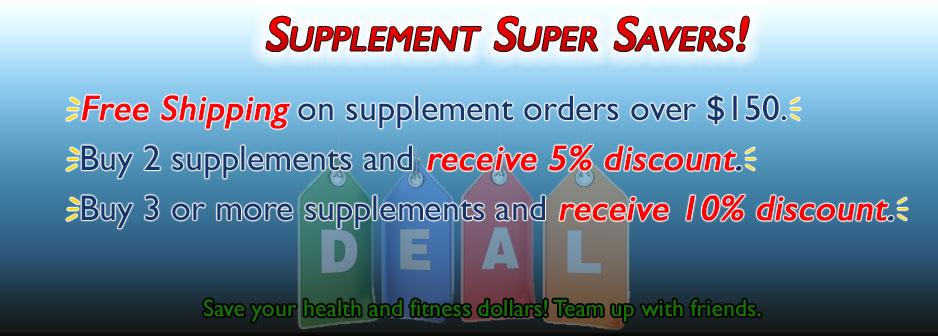 Supplement Super Savers