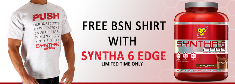 BSN Syntha 6 Edge Promotion
