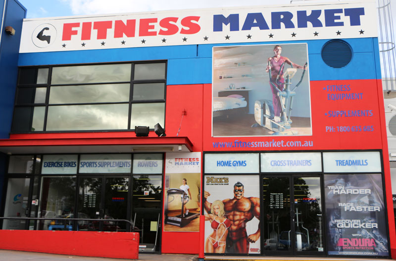 Fitness Market Indooroopilly - front of shop